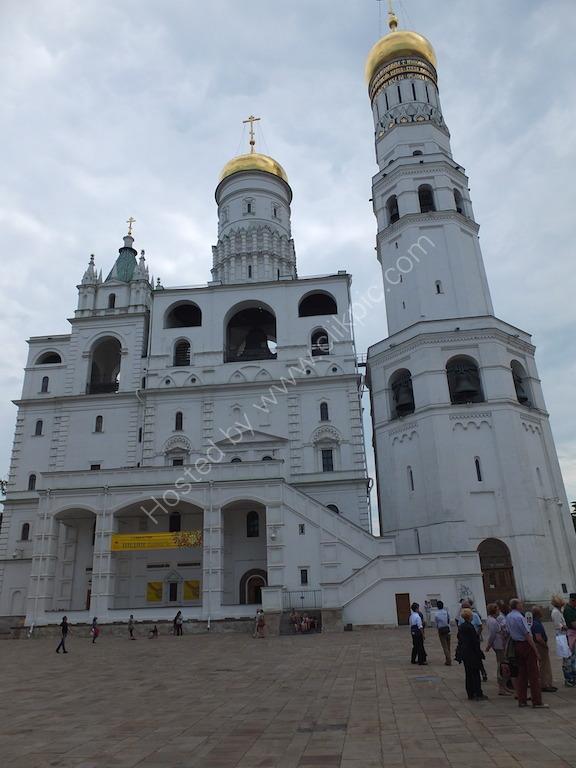 Ivan the Great Bell Tower, Ivanovskaya Square within the Kremlin