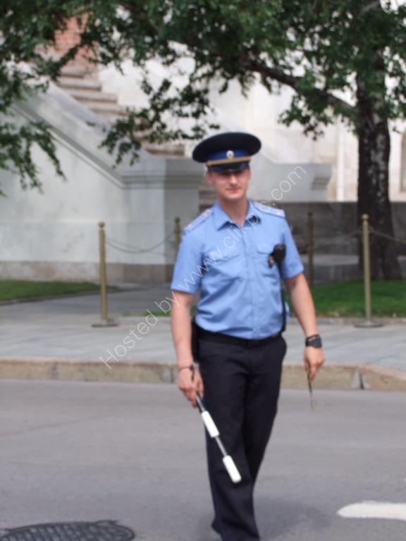 Russian Policeman, Kremlin
