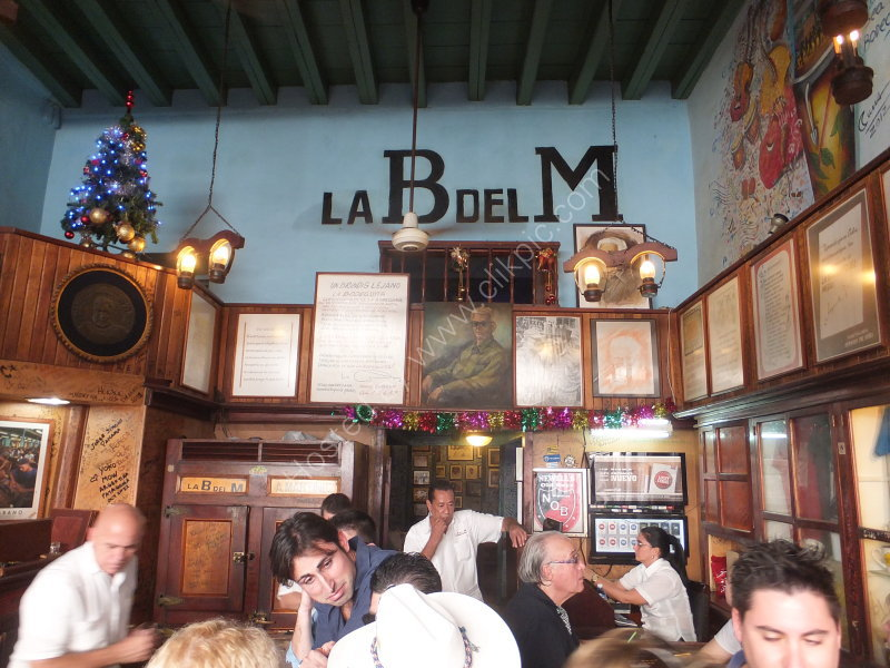 Small Bar of La Bodequita del Medio, Empedrado Street, Havana
