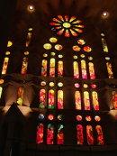 Stained Glass Window, La Sagrada Familia