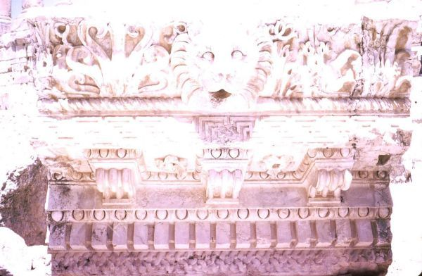 Detailed Carving in Stone, Balbaak