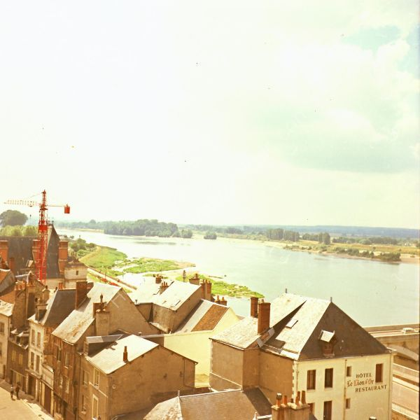 River Loire overlooking Amboise, Loire Valley