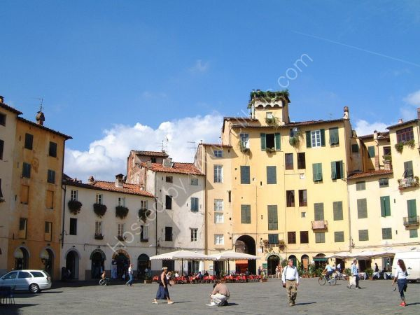 Houses in Lucca, Tuscany