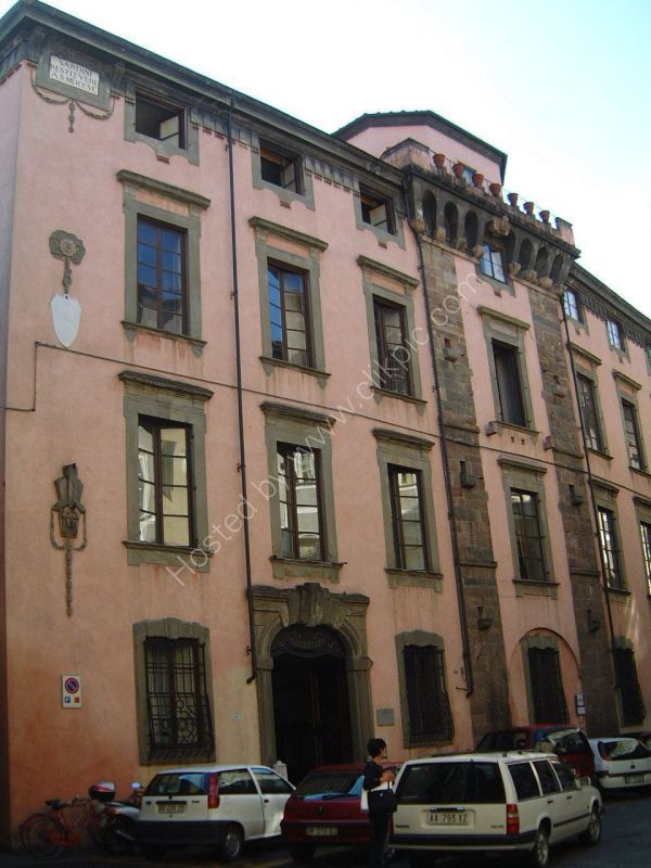Building, Lucca, Tuscany