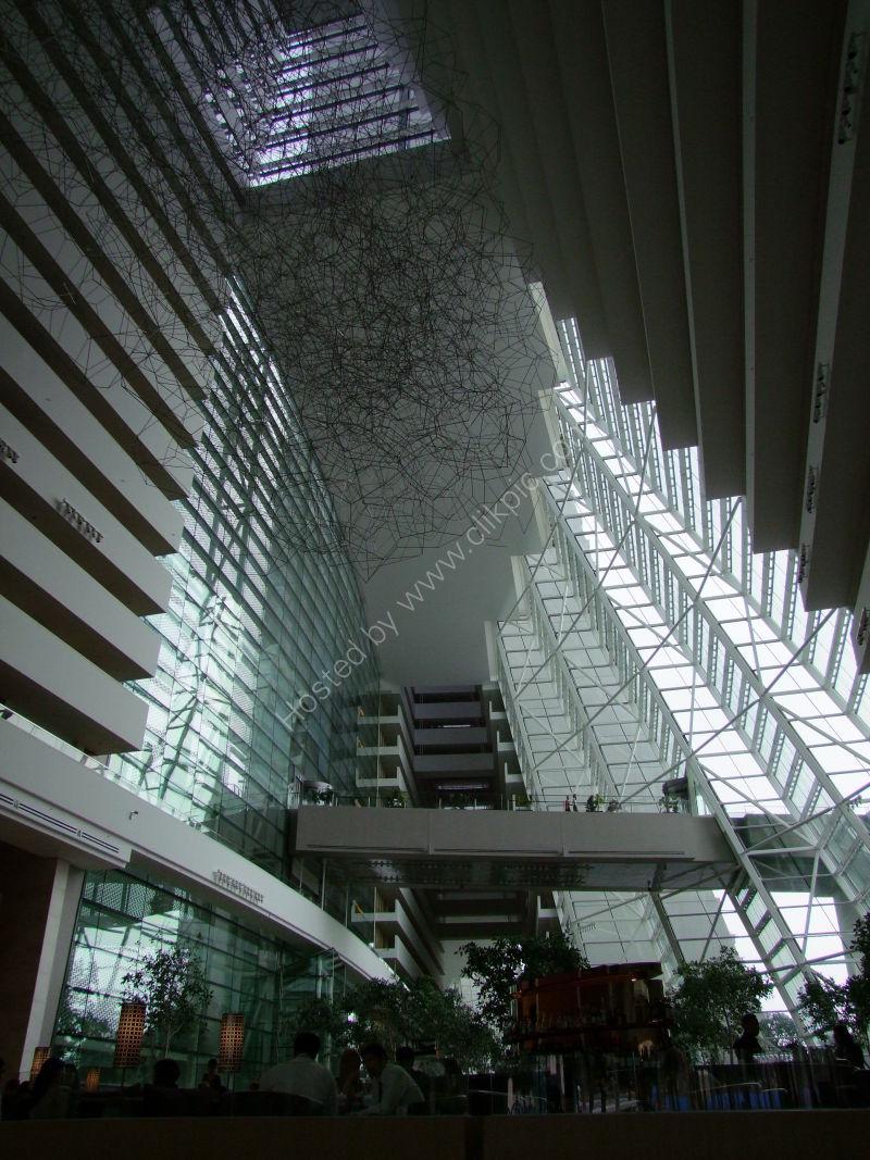 Marina Bay Sand Hotel Atrium, Marina Bay