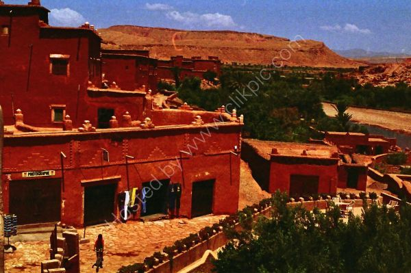 Kasbah, Atlas Mountains