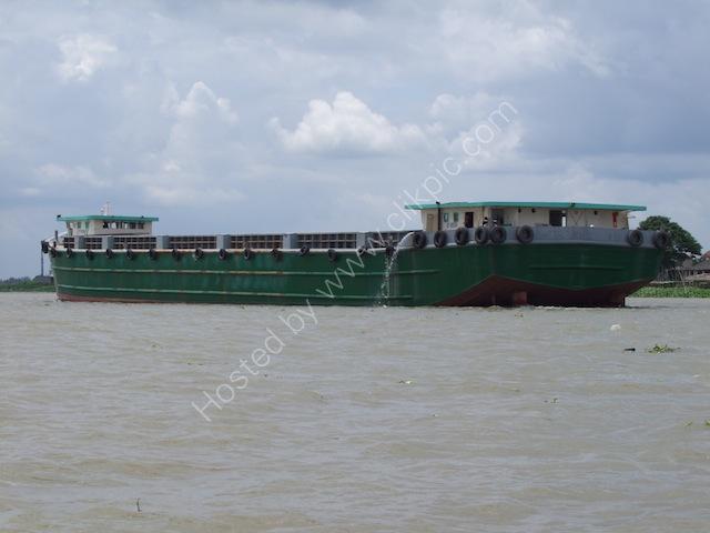 Tanker on the Mekong Delta