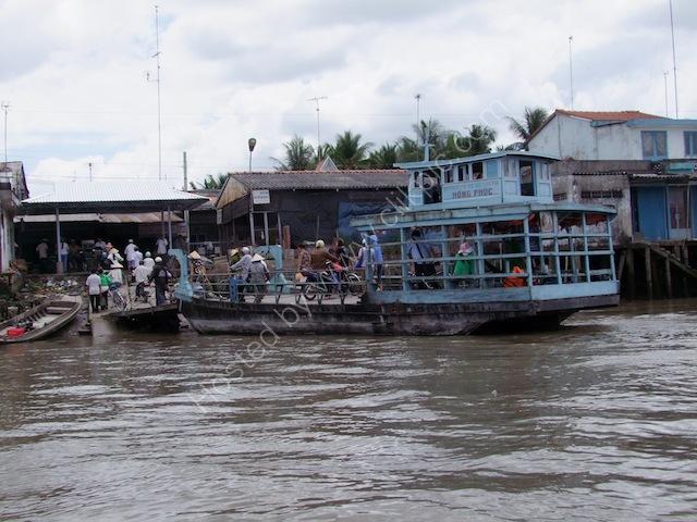 Hong Phuc Ferry, Mekong Delta