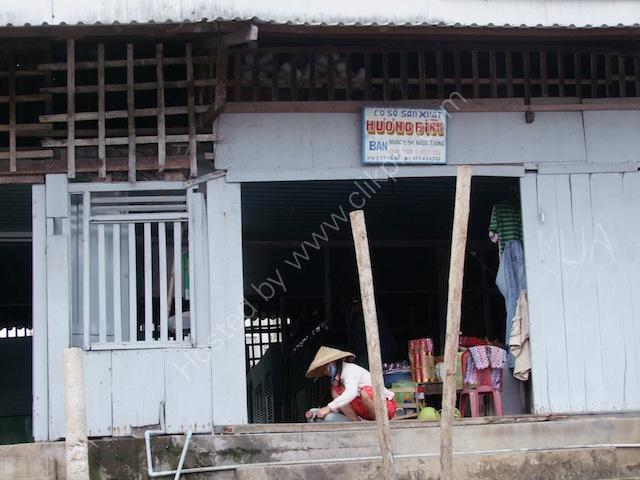 Riverside Shop, Mekong Delta