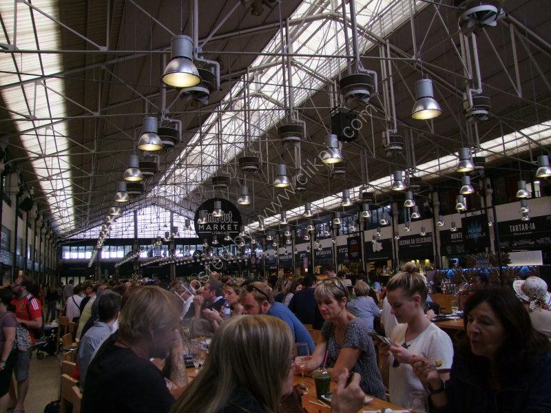 Food Court at Mercardo da Ribeira