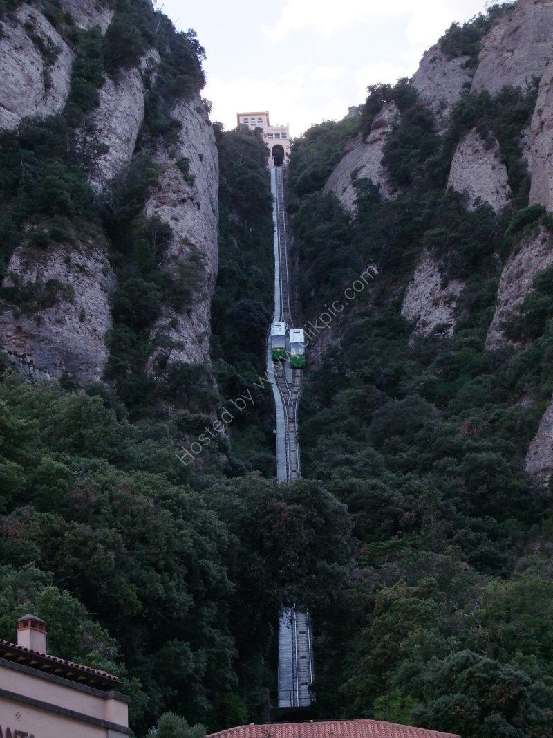 Funicular Trams Passing