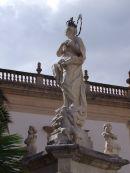 Statue, Cathedral Square, Monreale