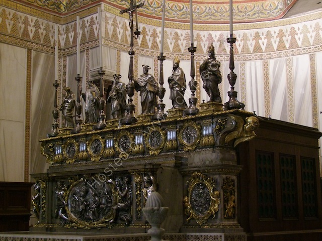 Silver & Gold Altar, Monreale Cathedral