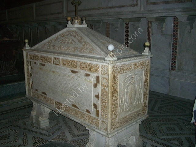 Intricate Coffin, Monreale Cathedral