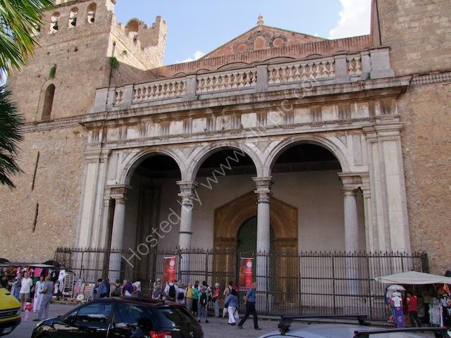 18th Century Portico, Monreale Cathedral