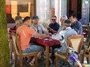 Montenegran Men playing Dominos, Cetinje