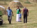 Montenegran Farmers outside Moraca Monastery