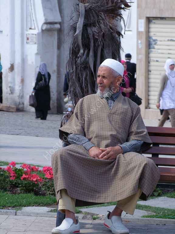 Moroccan Man Chilling!