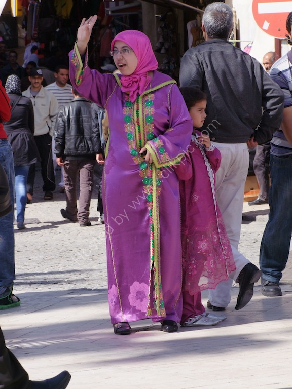 Moroccan Woman & Daughter, Tangier