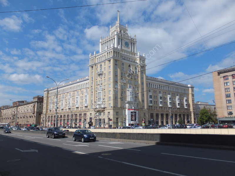 Grand Building in Moscow