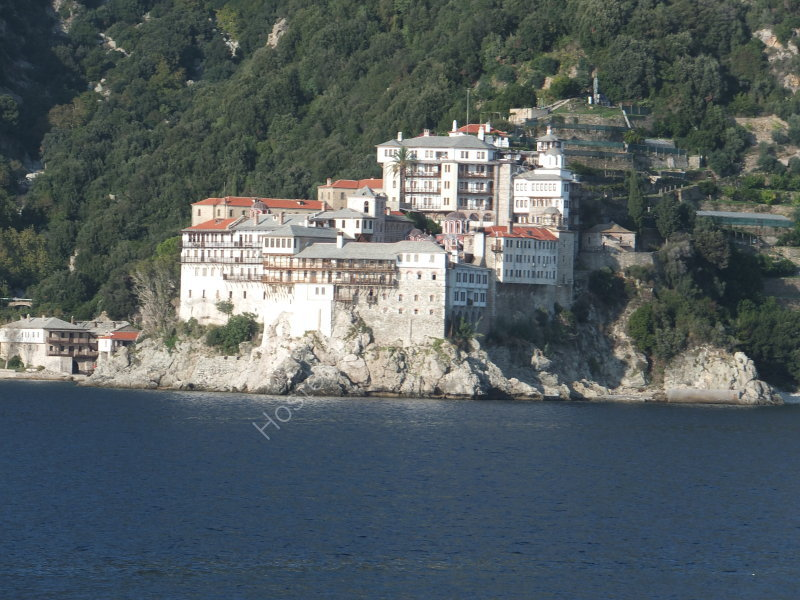 A Monastery on Mount Athos
