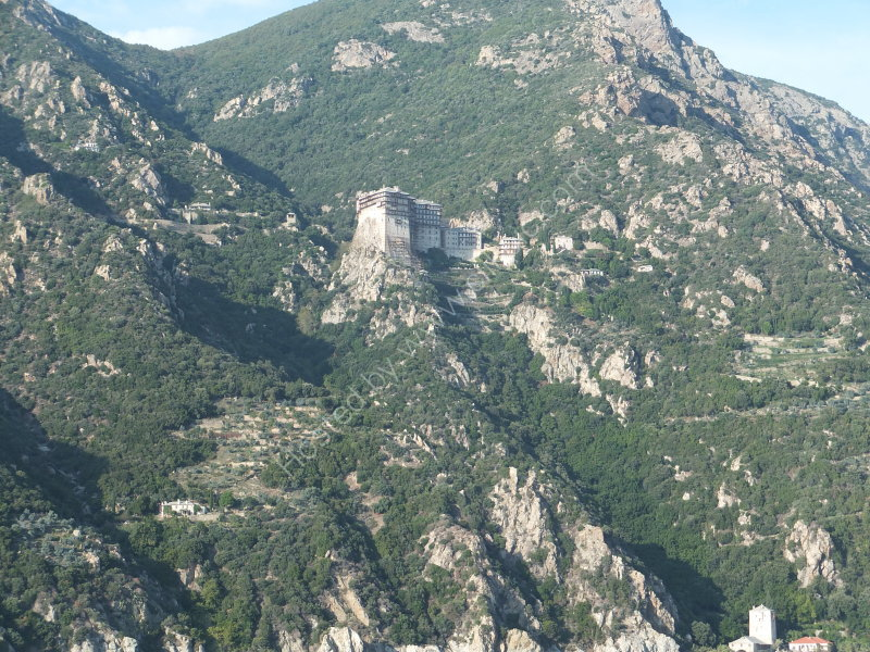 Another Monastery on Mount Athos