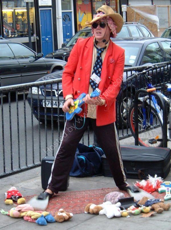Musician or Actor?, Portobello Road, London