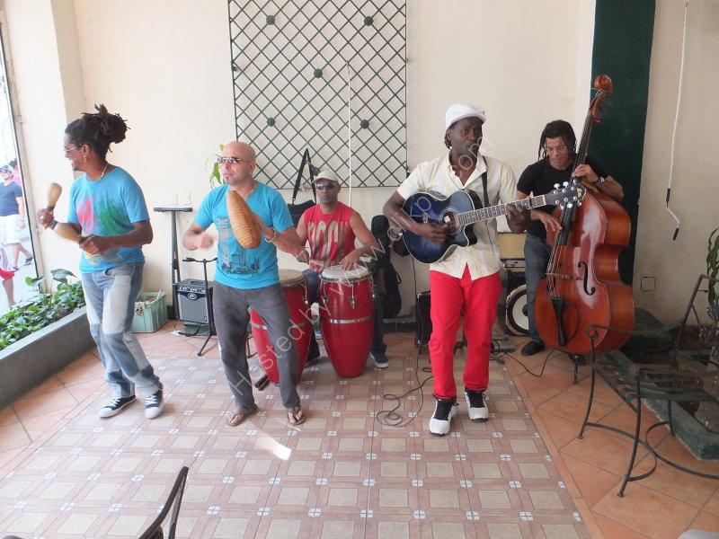 Cuban Musicians, Obispo Street, Havana