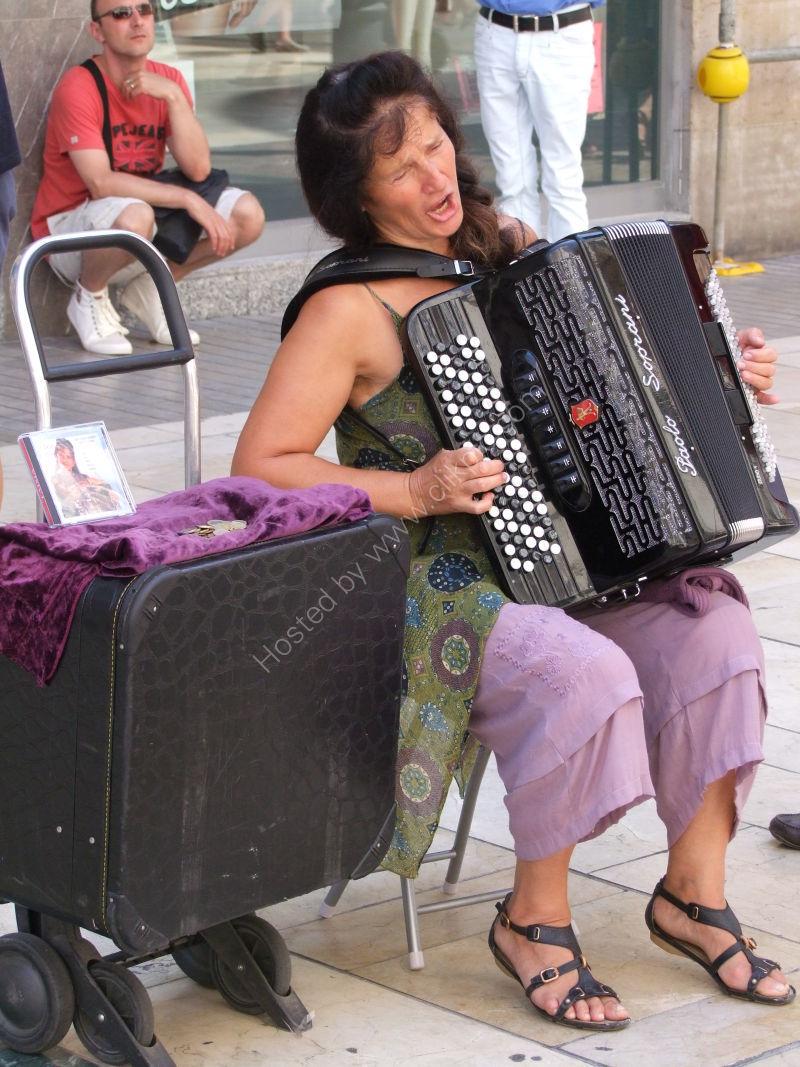 Opera Singer, Malaga Festival