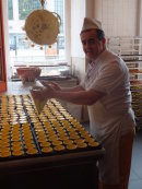 """Production of Portuguese Pastry """"Nata"""""""