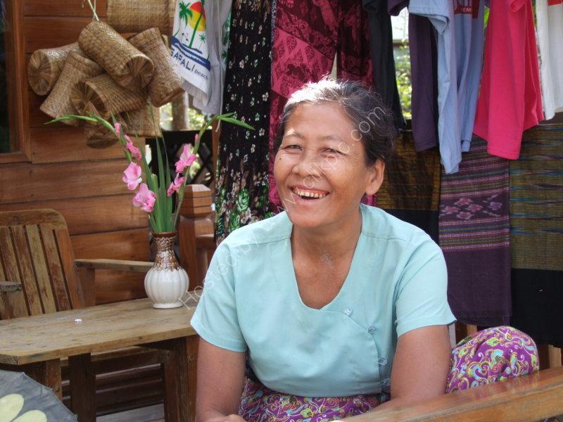 Portait of a Myanmar Woman