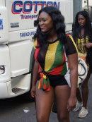 Happy Jamaican Girl