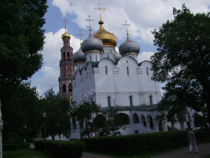 Cathedral of the Virgin of Smolensk & Bell Tower (background)