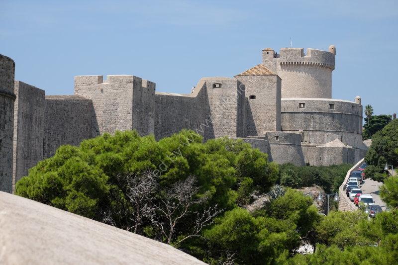 Dubrovnik City Walls & Minceta Tower