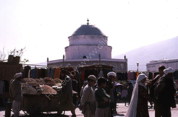 Open Air Bazaar, Kabul