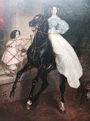 "Painting ""Rider"" by Karl Briullov 1832, Hemitage Museum, St Petersburg"