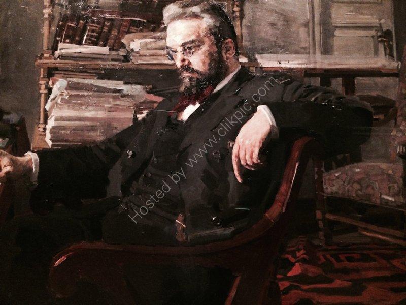 Portrait of Anton Chekov of Moscow Arts Theatre, Hermitage Museum