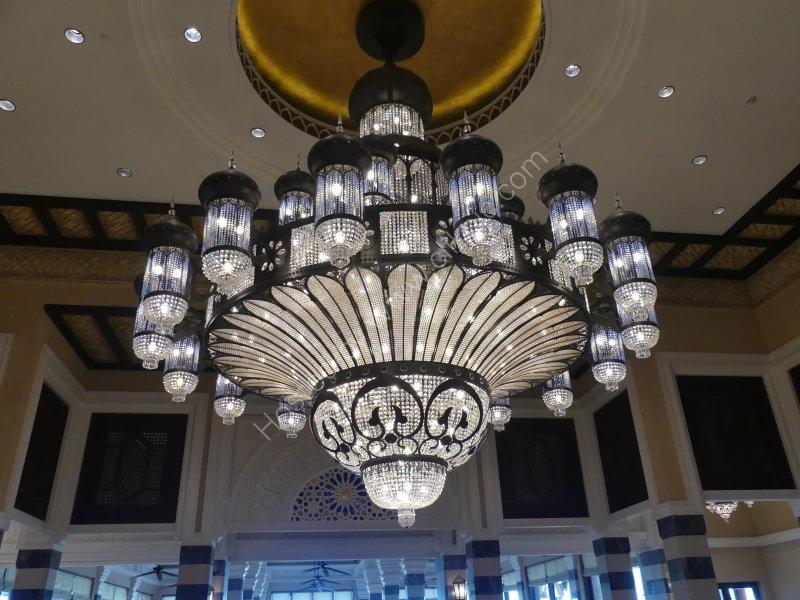 Crystal Chandelier, Palace Hotel, Dubai 2019