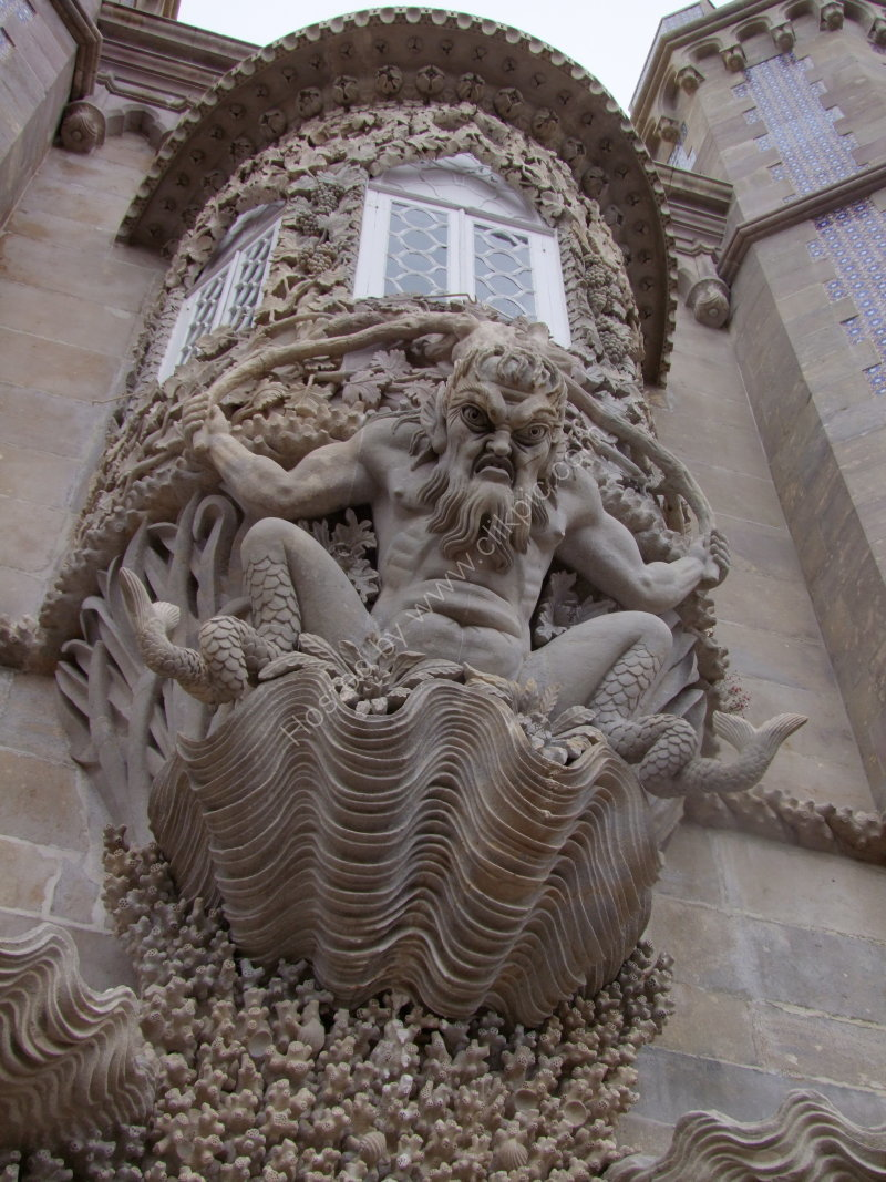 Window Detail at Palacio Pena