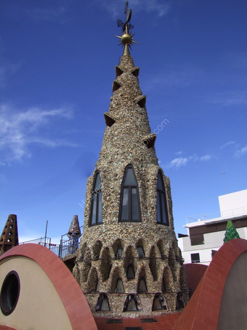 Gaudi Decorative Spire