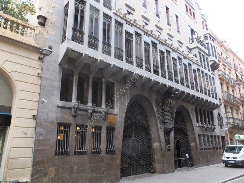 Exterior Facade of Palau Guell
