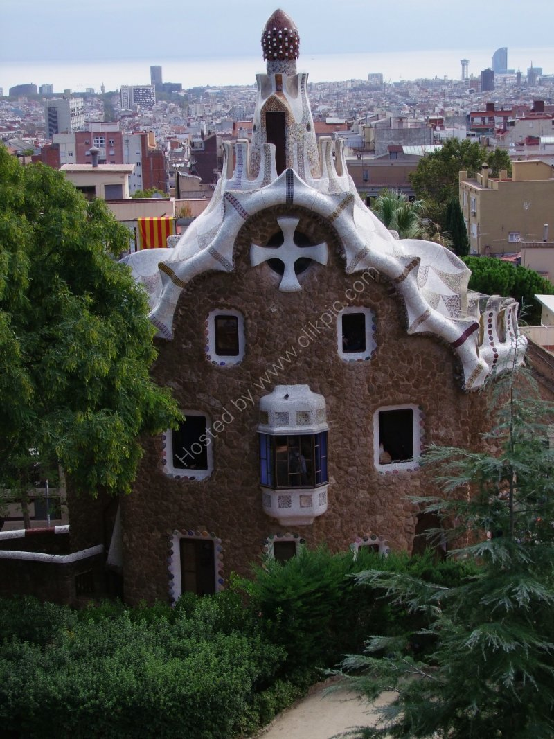 Guadi Gingerbread House, Parc Guell