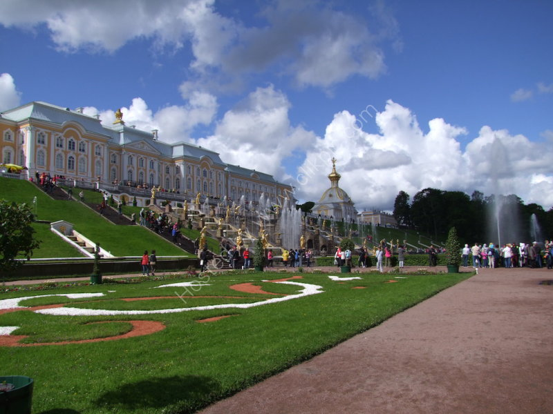 Fountain Gardens & Palace, Peterhof