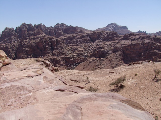View from Ad-Dayr (The Monastery), Petra