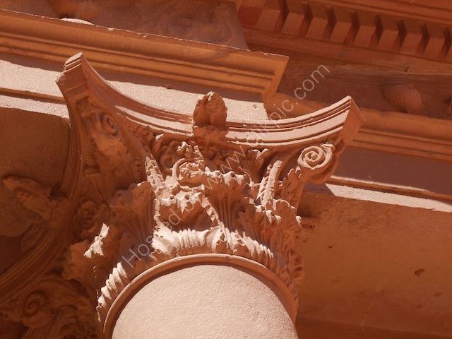 Detail of Al-Khazneh al-Faraoun (Treasury of the Pharaoh), Petra