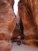 Horse & Carriage through As-Siq Gorge, Petra