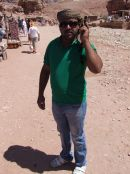 Jordanian Bedouin, Petra