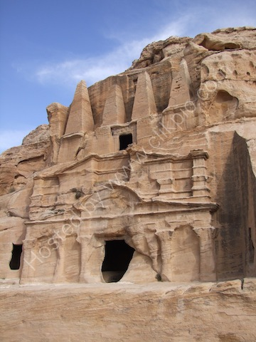 Nabatean Obelisk Tomb & Bab as-Siq Triclinium, Bab as-Siq, Petra