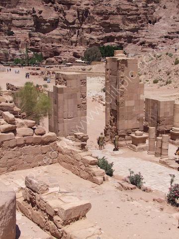 Temenos Gate, Petra