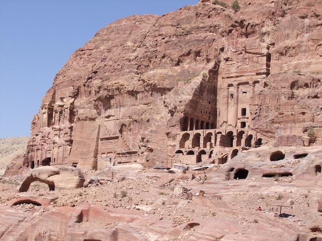 Silk Tomb, Corinthian Tomb & Urn Tomb, Petra